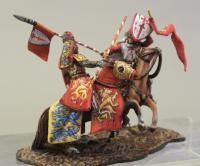 Medieval wargaming miniatures