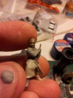 Medieval wargaming knight