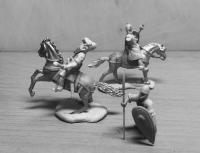 Mounted Norman Knights