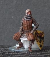 Sitting knight