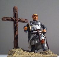 teutonic knight and cross