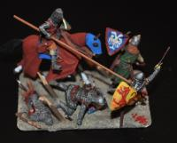 Medieval battle picture