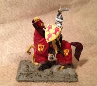 medieval crusader knight
