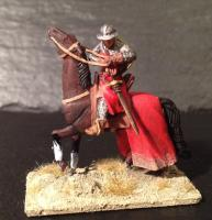 Knight pulling his sword