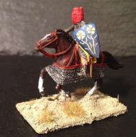 Medieval french crusader
