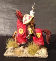 Mounted crusader