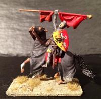 Mounted german crusader