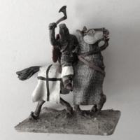 medieval mounted knight teutonic order