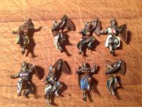 Medieval siege ladder crew 2