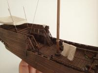 medieval heavy warship model