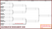Turnierbaum - Deathmatch Tournament 2009.png