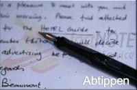 Handgeschriebene Notizen abtippen