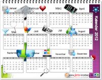 Büroservice Kalender 2012