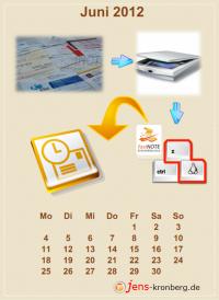 Büroservice Jahreskalender  Juni 2012