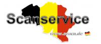 Scanservice für Kunden aus Belgien