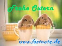 fastNOTE SchreibService Frohe Ostern 2013