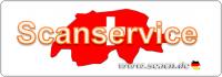 Scanservice für Kunden aus der Schweiz