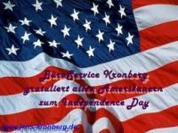 BüroService Kronberg gratuliert allen Amerikanern zum Independence Day