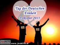 Wir gratulieren zum Tag der Deutschen Einheit