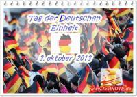 Unser Schreibbüro gratuliert zum Tag der Deutschen Einheit