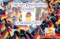 Unser SchreibService gratuliert zum Tag der Deutschen Einheit