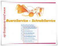 Bürodienstleistungen - Schreibarbeiten