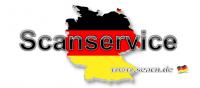 Scanservice für Kunden aus Deutschland