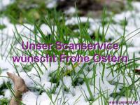 Unser Scanservice wünscht Frohe Ostern 2014
