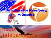 04.07.2015 Independence Day 2015 BüroService Kronberg