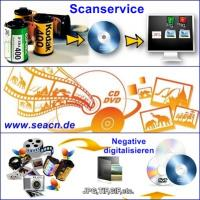 Scanservice Negative digitalisieren