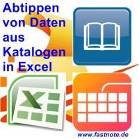 Abtippen von Daten aus Katalog in Excel 3