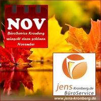 BüroService Kronberg wünscht einen schönen November