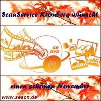 ScanService Kronberg wünscht einen schönen November