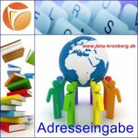 13.02.2017 Adresseingabe fastNOTE SchreibService