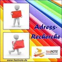 Richtige Postanschrift ermitteln BüroService Kronberg