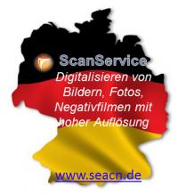 Ihr Scanservice in Deutschland