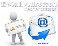E-Mail Adressen recherchieren