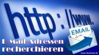 Email Adressen recherchieren