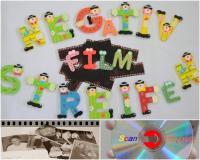 Negativfilmstreifen einscannen auf CD,DVD
