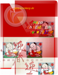 Chinese New Year 2012 Büroservice