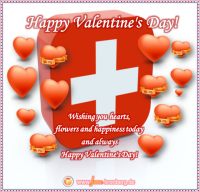 BüroService Kronberg wünscht seinen Kunden in der Schweiz Happy Valentine´s Day