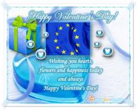 BüroService Kronberg wünscht seinen Kunden in Europa Happy Valentine´s Day