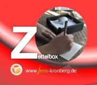 Schreibservice Glossar Z - Zettelbox
