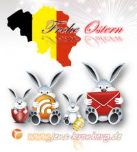 BüroService Kronberg wünscht seinen Kunden in Belgien Frohe Ostern