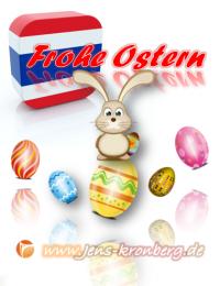 Frohe Ostern wünscht unser Büroservice aus Chiang Mai, Thailand