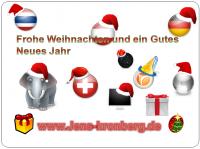 Internat. Schreibbüro Weihnachts- und Neujahrskarte 2011