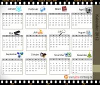Schreibbüro Kalender 2012