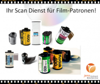 Ihr Scandienst für Film-Patronen von AGFA, FUJI, KODAK