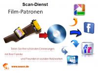 Scandienst - Filmpatronen digitalisieren auf CD oder DVD