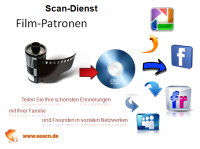 Scandienst - Filmpatronen digitalisieren auf DVD